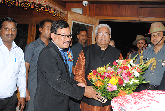 Hon'ble Governor of Assam Visited Mayur Hotel Guwahati for Dinner